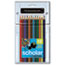 SAN92804 - Scholar Colored Woodcase Pencils, 12 Assorted Colors/Set