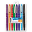 PAP89061 - Point Guard Flair Porous Point Stick Pen, Assorted Ink, Medium, 8 per Set