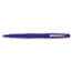 PAP8410152 - Point Guard Flair Porous Point Stick Pen, Blue Ink, Medium, Dozen