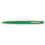 PAP8440152 - Point Guard Flair Porous Point Stick Pen, Green Ink, Medium, Dozen
