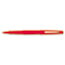PAP8420152 - Point Guard Flair Porous Point Stick Pen, Red Ink, Medium, Dozen