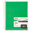 MEA05682 - Spiral Bound Notebook, College Rule, 8 x 10-1/2, White,Twin wire, 180 Sheets/Pad