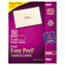 AVE5660 - Easy Peel Laser Mailing Labels, 1 x 2-5/8, Clear, 1500/Box