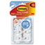 MMM17006CLRVP - Clear Hooks and Strips, Plastic, Mini, 18 Hooks with 24 Adhesive Strips per Pack