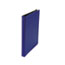 "UNV30402 - Suede Finish Vinyl Round Ring Binder, 1/2"" Capacity, Royal Blue"