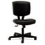 HON5703SB11T - Volt Series Task Chair with Synchro-Tilt, Black Leather