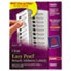 AVE15695 - Easy Peel Laser Mailing Labels, 2/3 x 1-3/4, Clear, 600/Pack