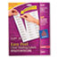 AVE5630 - Easy Peel Laser Mailing Labels, 1 x 2-5/8, Clear, 750/Box