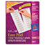 AVE5661 - Easy Peel Laser Mailing Labels, 1 x 4, Clear, 1000/Box