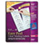 AVE5663 - Easy Peel Laser Mailing Labels, 2 x 4, Clear, 500/Box