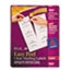 AVE5664 - Easy Peel Laser Mailing Labels, 3-1/3 x 4, Clear, 300/Box