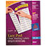 AVE8660 - Easy Peel Inkjet Mailing Labels, 1 x 2-5/8, Clear, 750/Pack