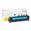 XER6R3015 - 6R3015 (CE411A) Compatible Remanufactured Toner, 2600 Page-Yield, Cyan