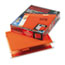 "ESS4152X2ORA - Reinforced 2"" Extra Capacity Hanging Folders, Letter, Orange, 25/Box"