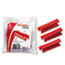 ESS4312RED - Hanging File Folder Tabs, 1/3 Tab, 3 1/2 Inch, Red Tab/White Insert, 25/Pack