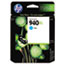 HEWC4907AN140 - C4907AN (HP 940XL) Ink Cartridge, 1400 Page-Yield, Cyan