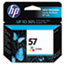HEWC6657AN140 - C6657AN (HP 57) Ink Cartridge, 500 Page-Yield, Tri-Color