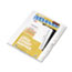 "KLF82238 - 80000 Series Legal Index Dividers, Side Tab, Printed ""38"", 25/Pack"