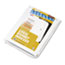 "KLF82250 - 80000 Series Legal Index Dividers, Side Tab, Printed ""50"", 25/Pack"