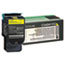 LEXC540H1YG - C540H1YG High-Yield Toner, 2000 Page-Yield, Yellow