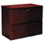 MLNLF23620C - Luminary Series Wood Veneer 2-Drawer Lateral File, 34-3/4w x 20d x 29h, Cherry