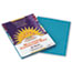 PAC7703 - Construction Paper, 58 lbs., 9 x 12, Turquoise, 50 Sheets/Pack