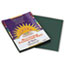 PAC7803 - Construction Paper, 58 lbs., 9 x 12, Dark Green, 50 Sheets/Pack