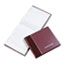 RED57803 - Visitor Register Book, Burgundy Hardcover, 128 Pages, 8 1/2 x 9 7/8