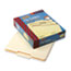SMD10332 - File Folders, 1/3 Cut Second Position, One-Ply Top Tab, Letter, Manila, 100/Box