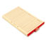 SMD63910 - Out Guides, 1/5 Tab, Manila, Legal, Red, 100/Box