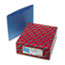 SMD75502 - File Jackets, Reinforced Double-Ply Tab, Letter, 11 Point Stock, Blue, 100/Box