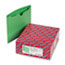 SMD75503 - File Jackets, Reinforced Double-Ply Tab, Letter, 11 Point Stock, Green, 100/Box
