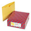 SMD75511 - File Jackets, Reinforced Double-Ply Tab, Letter, 11 Point Stock, Yellow, 100/Box