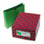 "SMD75563 - File Jacket, 2-Ply Tab and 2"" Accordion Expansion, Ltr, 11 Point, Green, 50/Box"