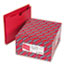 "SMD75569 - File Jacket with 2-Ply Tab and 2"" Accordion Expansion, Letter, Red, 50/Box"