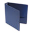 "UNV33402 - Suede Finish Vinyl Round Ring Binder, 1-1/2"" Capacity, Royal Blue"