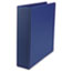 "UNV34402 - Suede Finish Vinyl Round Ring Binder, 2"" Capacity, Royal Blue"