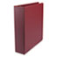 "UNV34406 - Round Ring Binder, Suede Finish Vinyl, 2"" Capacity, Maroon"