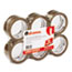 "UNV63001 - Box Sealing Tape, 2"" x 55 yards, 3"" Core, Tan, 6/Box"