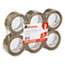 "UNV63501 - Box Sealing Tape, 2"" x 110 yards, 3"" Core, Tan, 6/Box"