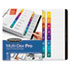 WLJ54708 - Multi-Dex Quick Reference Index, Assorted Color 8-Tab, Letter, 8/Set