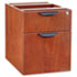 ALEVA552222MC - Valencia Series 3/4 Box/File Pedestal, 15-5/8 x 20-1/2 x 19-1/4, Medium Cherry