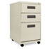 ALEPA532820PY - Three-Drawer Mobile Pedestal File, 16w x 19-1/2d x 28-1/2h, Putty