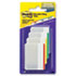 MMM686F1 - Durable File Tabs, 2 x 1 1/2, Striped, Assorted Standard Colors, 24/Pack
