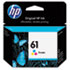 HEWCH562WN140 - CH562WN (HP61) Ink Cartridge, 165 Page-Yield, Tri-Color