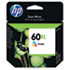 HEWCC644WN140 - CC644WN (HP 60XL) Ink Cartridge, 440 Page-Yield, Tri-Color