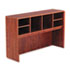 ALEVA296015MC - Valencia Series Open Storage Hutch, 58-7/8w x 15d x 35-1/2h, Medium Cherry