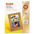 KOD1213719 - Photo Paper, 6.5 mil, Glossy, 8-1/2 x 11, 50 Sheets/Pack