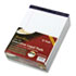 ESS20070 - Gold Fibre Writing Pads, Legal/Wide Rule, Ltr, White, 50-Sheet Pads/Pack, Dozen