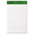 ESS20154 - Writing Pad, Perfed, Jr. Legal/Margin Rule, 5 x 8, White, 50-Sheet Pads, Dozen